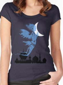 Arabian Nights Desert Wind Djinn Women's Fitted Scoop T-Shirt