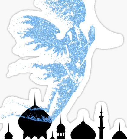 Arabian Nights Desert Wind Djinn Sticker