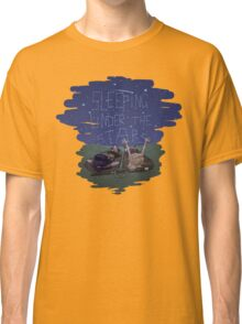 Xena and Gabrielle Under the Stars Classic T-Shirt