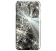 Electric Snow Fractal iPhone Case/Skin