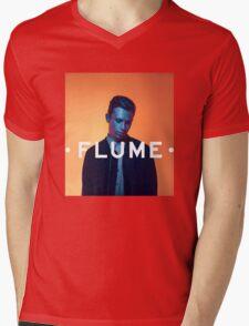 Flume Portrait Mens V-Neck T-Shirt