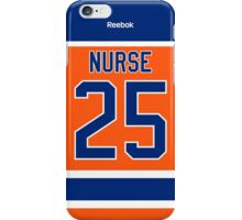 Edmonton Oilers Darnell Nurse Alternate Jersey Back Phone Case iPhone Case/Skin