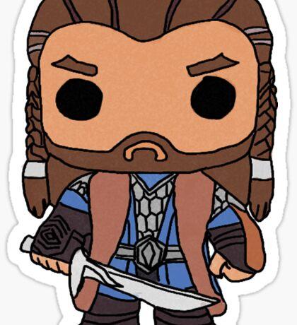 Thorin Oakenshield Pop Drawing Sticker