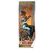 THE PARIS SHADOW THEATER 1895 Poster