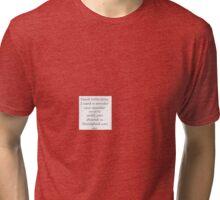 Dead Little Pony Theme Song Tri-blend T-Shirt