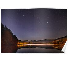 The Plough above the Brecon Beacons Poster