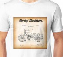 PATENT - HARLEY DAVIDSON 1928 Unisex T-Shirt