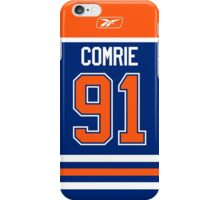 Edmonton Oilers Mike Comrie Jersey Back Phone Case iPhone Case/Skin