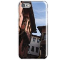 Oriel Windows Galore - Revival Houses in Old Town Plovdiv, Bulgaria iPhone Case/Skin