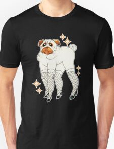 Pug With Lady Legs T-Shirt