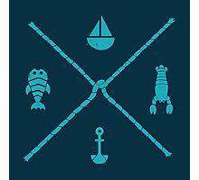 Sub-aquatic Compass Photographic Print