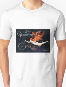 GLADIATOR CYCLES - PARIS 1895 Unisex T-Shirt