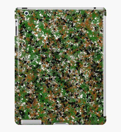 Army Camouflage Splat Painting iPad Case/Skin