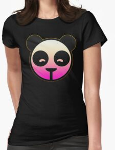 Carbon Panda Womens Fitted T-Shirt