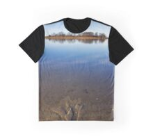 Peconic River Reflections | Orient, New York Graphic T-Shirt