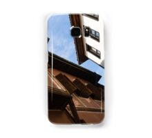 Sun and Shade - Elegant Revival Houses in Old Town Plovdiv, Bulgaria Samsung Galaxy Case/Skin