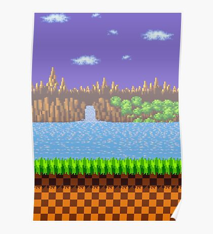 Green Hill Zone Poster