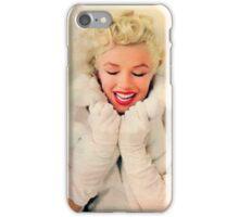 Marilyn Monroe White Xmas case iPhone Case/Skin
