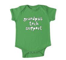Grandpa's Tech Support One Piece - Short Sleeve