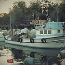 The fishing boat by rasim1