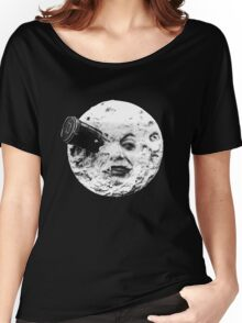 A Trip to the Moon (Le Voyage Dans La Lune) - face only Women's Relaxed Fit T-Shirt