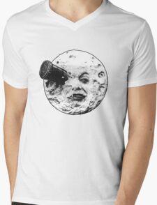 A Trip to the Moon (Le Voyage Dans La Lune) - face only Mens V-Neck T-Shirt