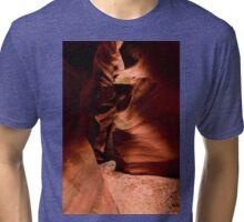 Eerie Shadows Tri-blend T-Shirt