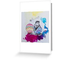 Easter egg 2 Greeting Card