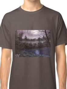 Peaceful  pond Classic T-Shirt