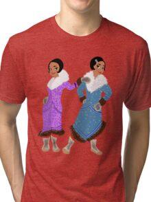 North Slope 20's Girls Tri-blend T-Shirt
