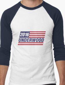 Underwood 2016 Flag Men's Baseball ¾ T-Shirt