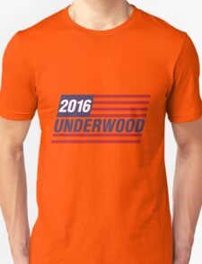 Underwood 2016 Flag Unisex T-Shirt