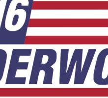 Underwood 2016 Flag Sticker