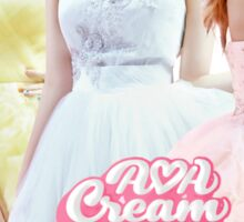 AOA Cream Sticker