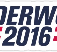 The Underwood Logo Sticker