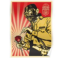 Banksy Toxic Waste Poster