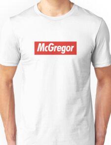 conor mcgregor x Supreme Unisex T-Shirt