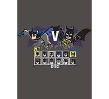 Battle of the Bats Photographic Print