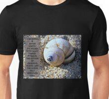 Seashell & Sand - A Seashell Is Never Empty Unisex T-Shirt