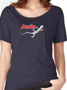 Audi Quattro Gecko Design Women's Relaxed Fit T-Shirt
