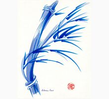 """""""Wind""""  blue sumi-e ink wash painting T-Shirt"""
