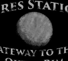 Ceres Station - Gateway to the Outer Rim Sticker