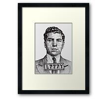 They Call Me Lucky....Lucky Luciano Framed Print