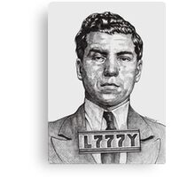 They Call Me Lucky....Lucky Luciano Canvas Print