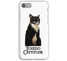 Tuxedo Cattitude iPhone Case/Skin