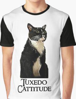 Tuxedo Cattitude Graphic T-Shirt