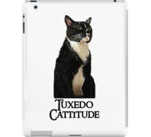 Tuxedo Cattitude iPad Case/Skin