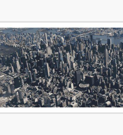 new york, new york Sticker