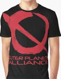 Outer Planets Alliance - Radical Version Graphic T-Shirt