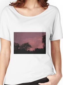 rose sky Women's Relaxed Fit T-Shirt